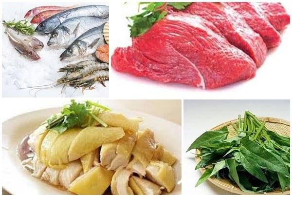 Chó mèo bị ghẻ sẽ phải kiêng đồ hải sản, thịt gà và một số loại rau
